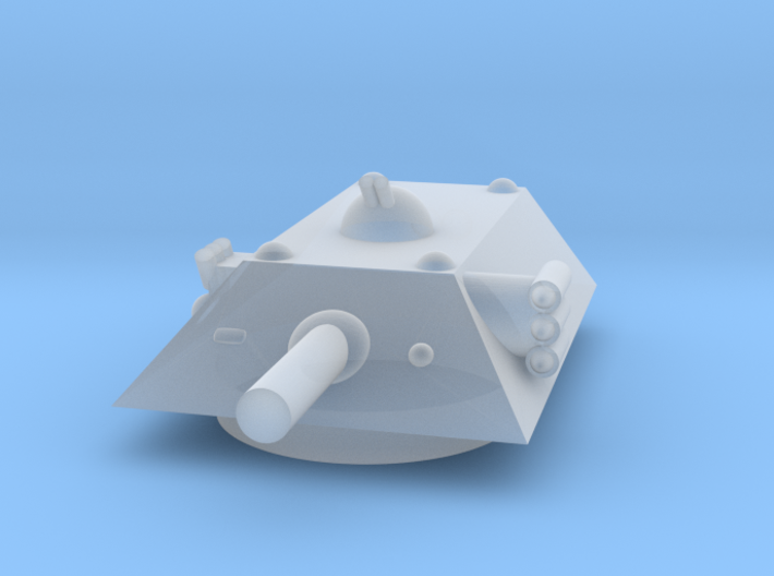 Tiger Heavy Grav Tank MSL Turret 15mm 3d printed