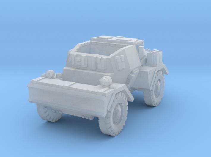 Daimler Dingo mk2 (open) 1/144 3d printed