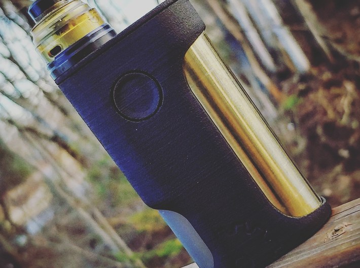 Moloko Squonker 18650 SwitchFet Mod 3d printed