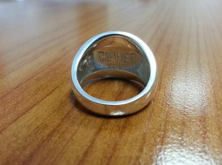 Virtual Adepts Ring 3d printed