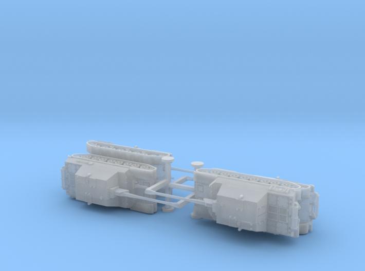 Japanese Type 5 Ho-Ri 2 Tank Destroyer 1/285 3d printed