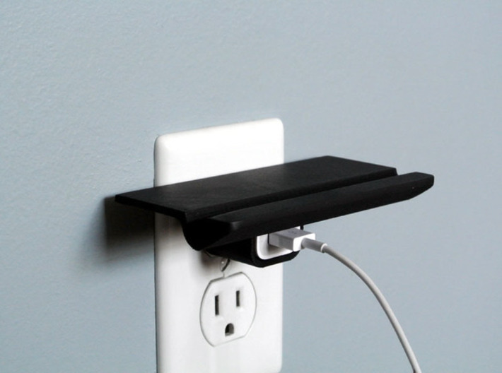 Outlet Shelf for iPhone 3d printed