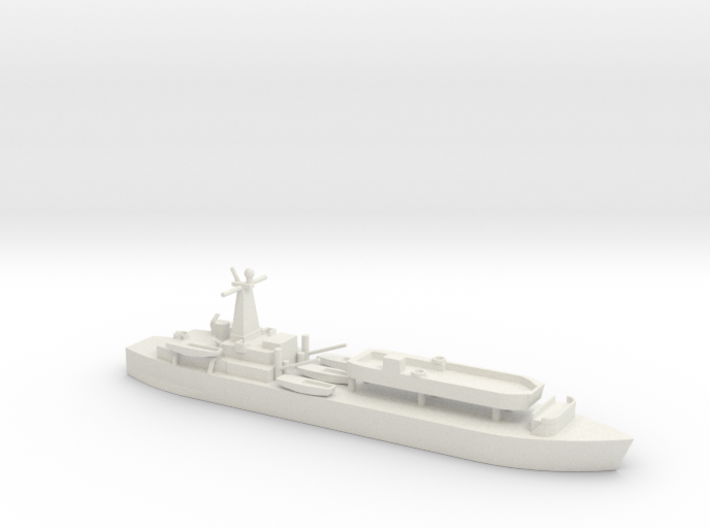 1/700 Scale British LST-3 with LCT 6 3d printed