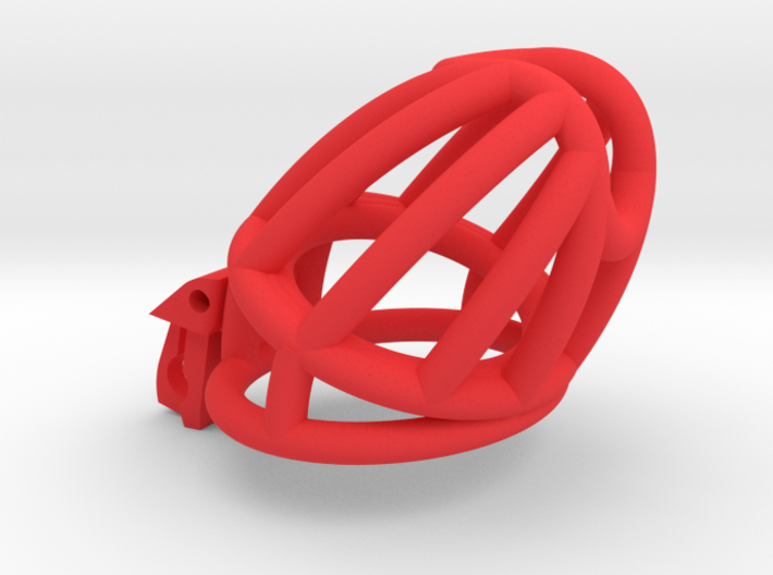 "The Cherry Keeper ""Headlock"" Cage - Long Wide 3d printed"