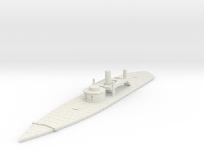 1/600 USS Puritan 3d printed