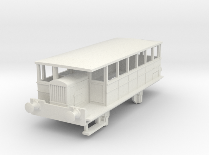 0-76-spurn-head-hudswell-clarke-railcar 3d printed