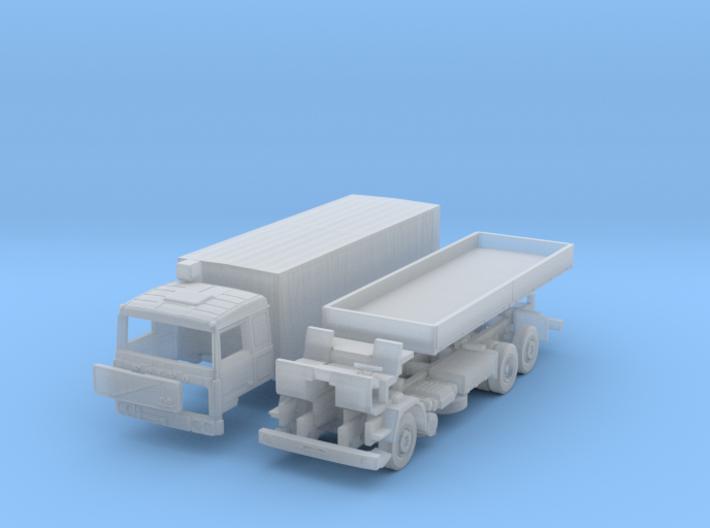 Volvo F10 6x2 Pritsche Plane (TT 1:120) 3d printed