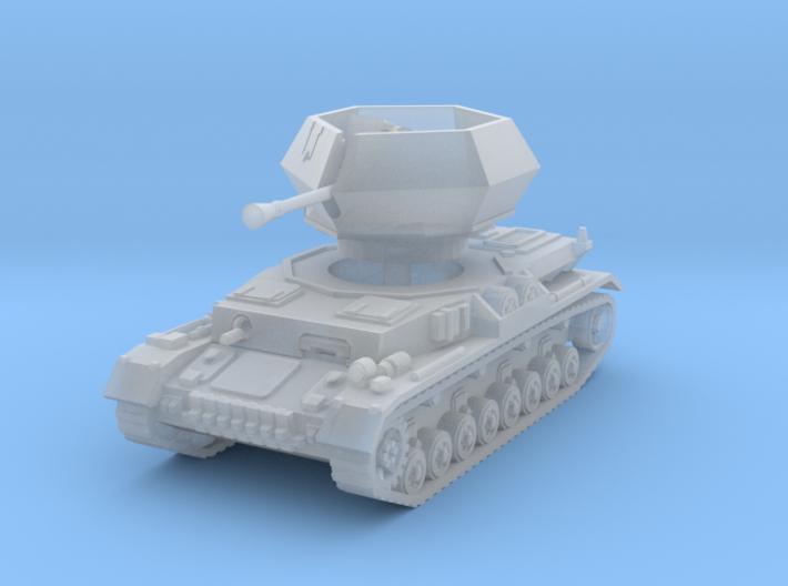 Flakpanzer IV Ostwind 1/200 3d printed