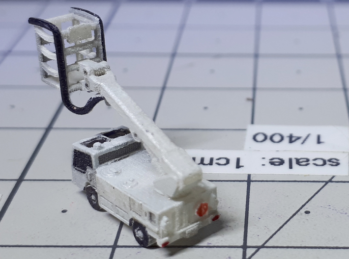 Deicing Truck GS-700 3d printed