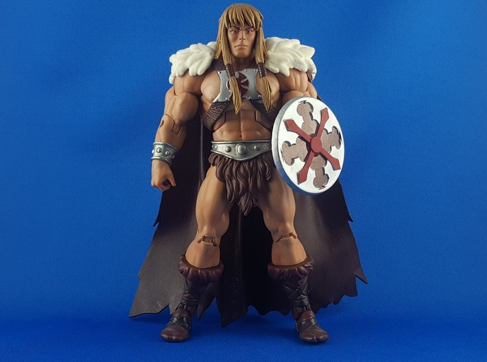 Sideshow He-man Shield 3d printed