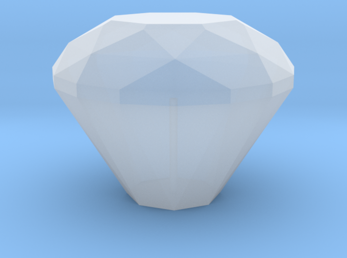 Diamond Gear Shift Knob 3d printed
