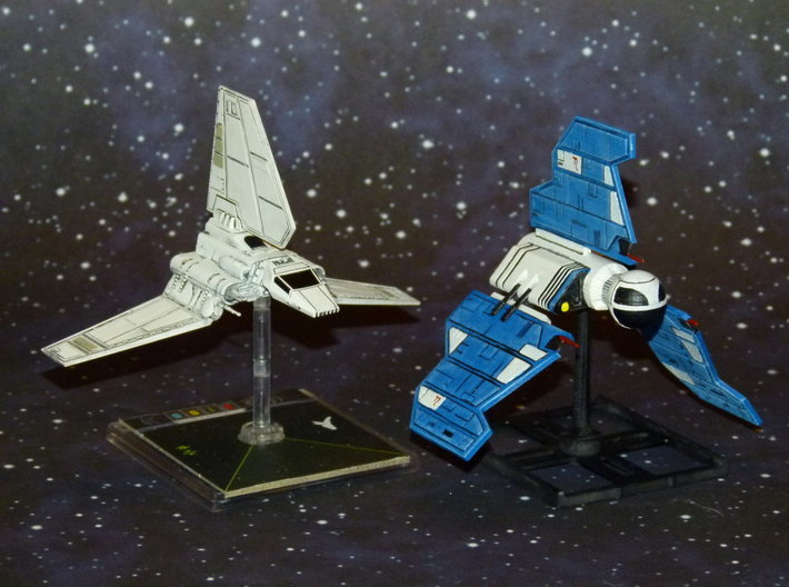X-Wing Eta-Class Republic Knight Shuttle  3d printed
