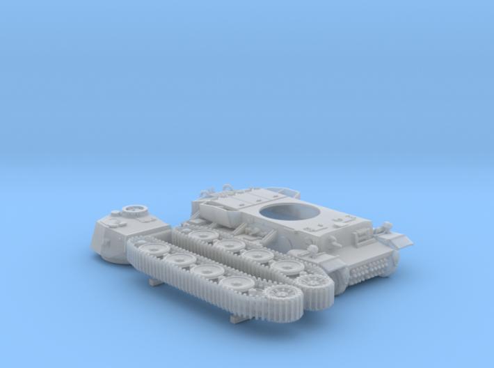 1/144 Pz.Kpfw VI VK36.01 (H) 10.5cm L/28 Tank 3d printed 1/144 Pz.Kpfw VI VK36.01 (H) 10.5cm L/28 Tank