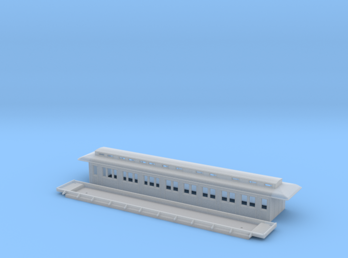 BCo1 model 96 - Swedish passenger wagon 3d printed