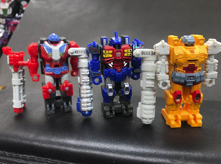 POTP: Masters' Rod and Stock 3d printed