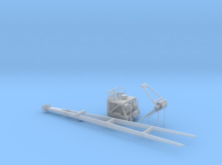 1/96 Bismarck Airplane Crane KIT 3d printed