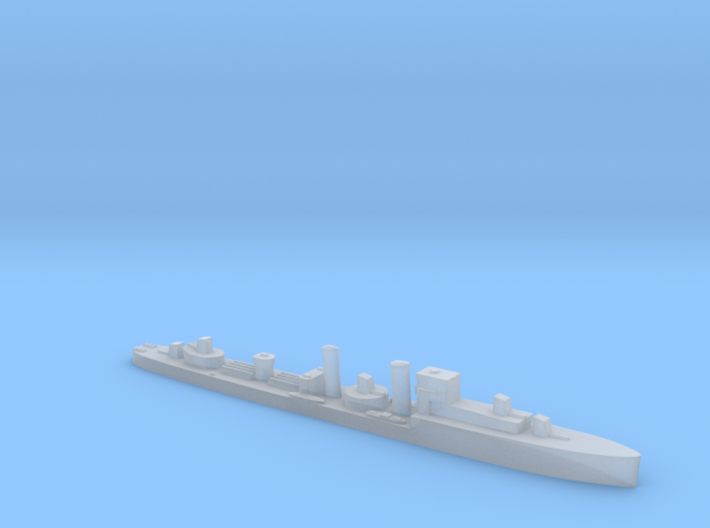 HMS Codrington 1:1800 WW2 destroyer 3d printed