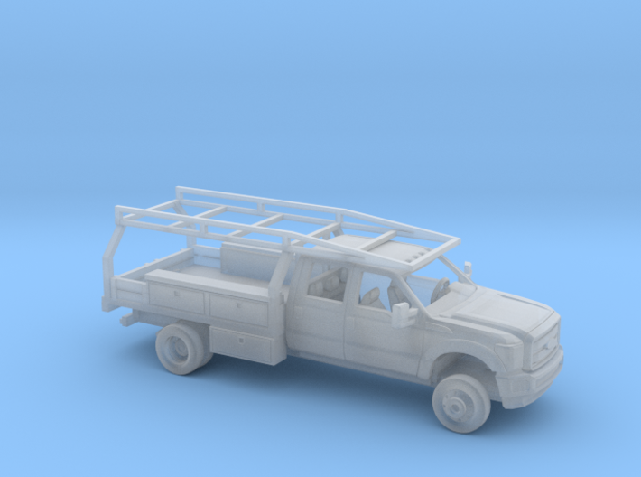 1/160 2011-16 Ford F Series CrewCab Contractor Kit 3d printed