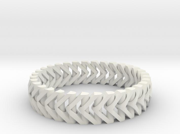 PiP Bracelet Version 3 (Articulating) 3d printed