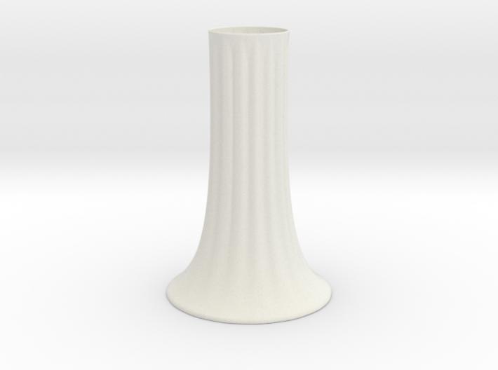 Fluted Vase 3d printed