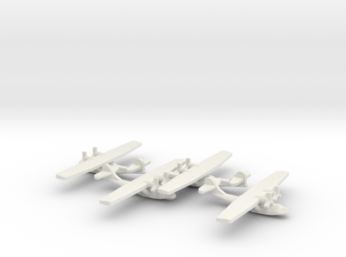US PBY Catalina Flying Boat (x4) 3d printed