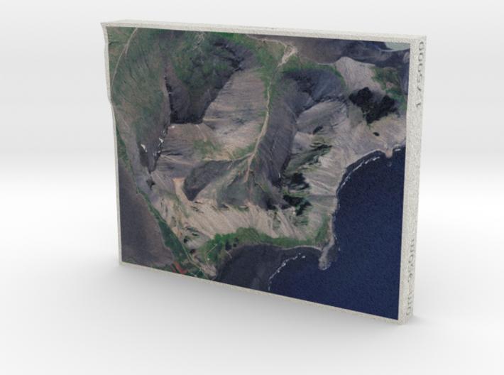 Vestrahorn, Iceland, 1:75000 3d printed