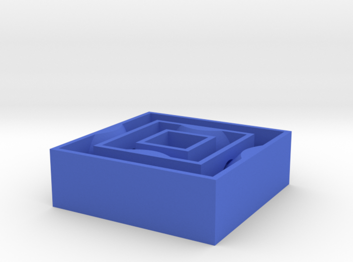[1DAY_1CAD] SQUARE SPINNER 3d printed