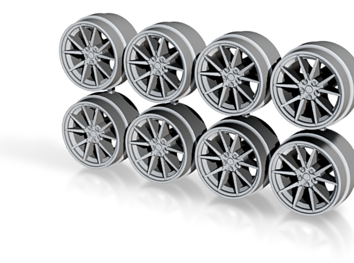 Model 3 Aero Hot Wheels Rims 8-2 3d printed