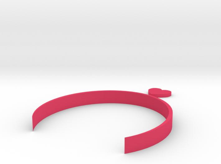 [1DAY_1CAD] HEART HEADBAND 3d printed