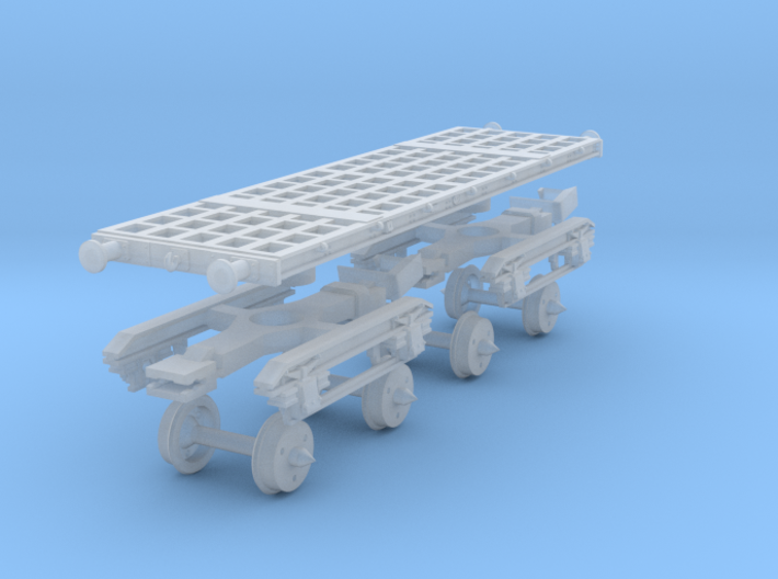 Armour Plate 55t with no decking 3d printed
