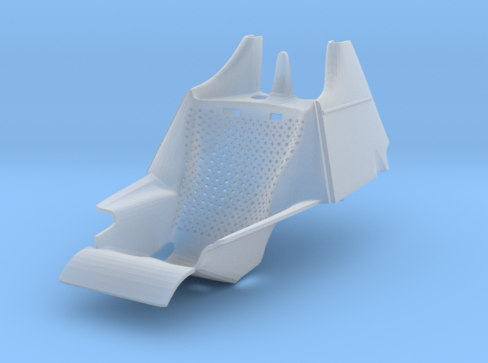 1/20 Tyrrell P34 holed seat 3d printed