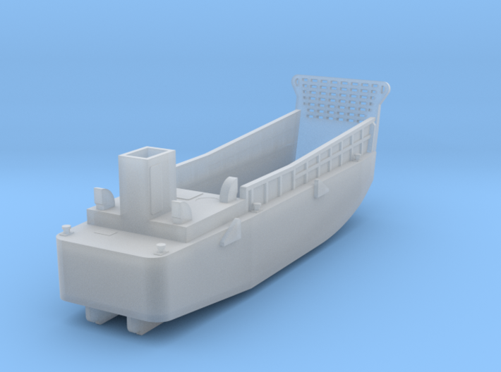 LCM3 Landing Craft scale 1:200 3d printed