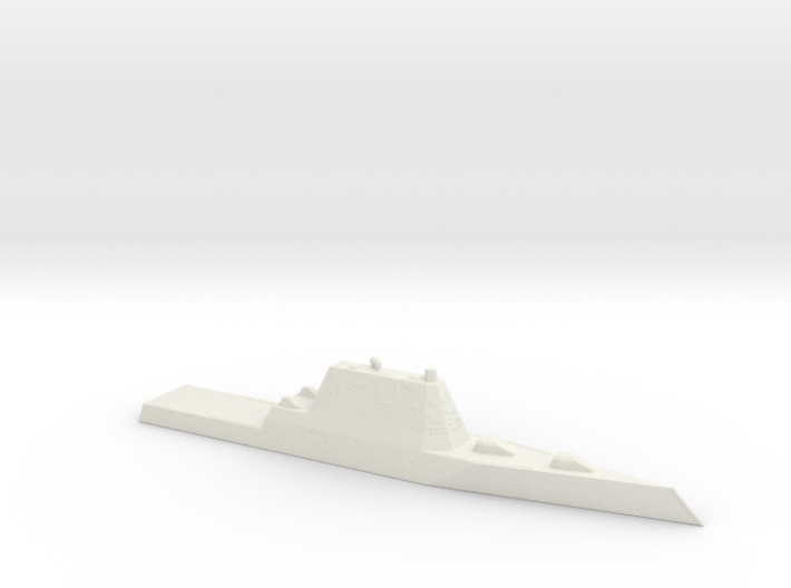 1/1250 Scale USS Zumwalt DDG-1000 Class 3d printed