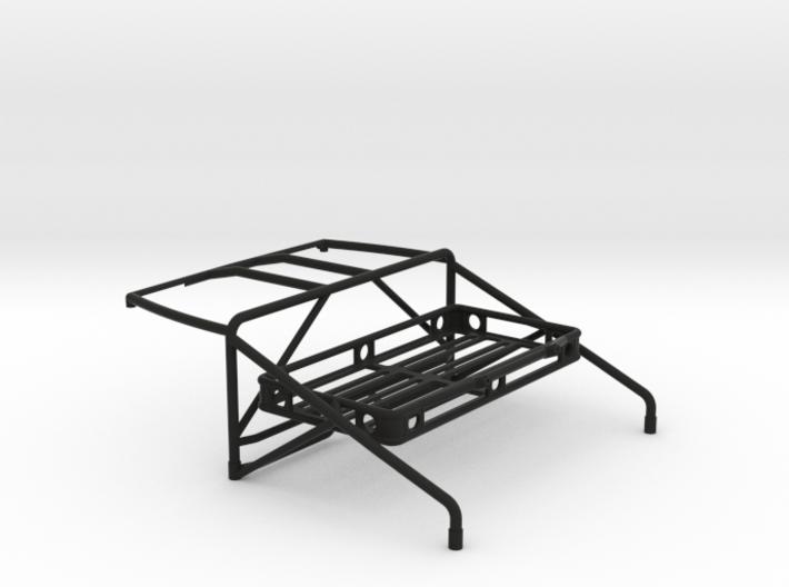 JK Roll Cage V4 w/ Cargo Rack 3d printed