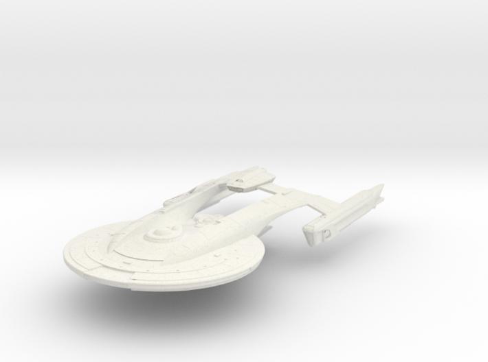 """AKIRA Class Refit IV BattleCruiser 4"""" 3d printed"""