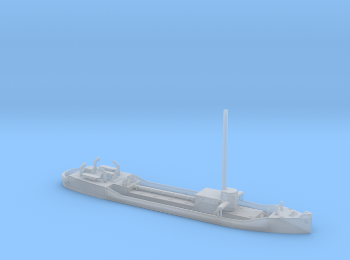 1/1250 Scale Small 255 foot Tanker Halawa 3d printed