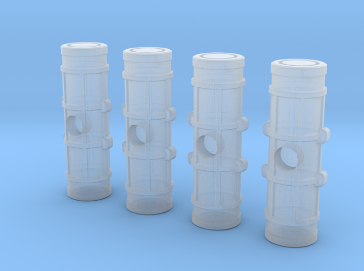 Earther Cargo Pods (4) 3d printed