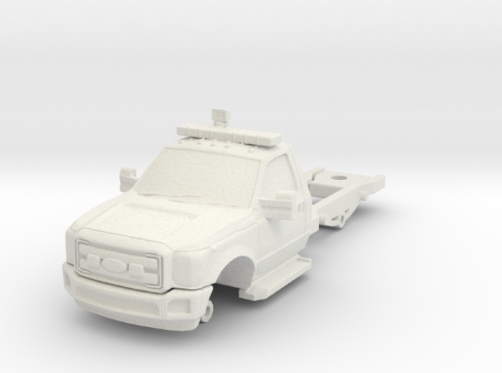 1/87 F550 2 DOOR CHASSIS 3d printed
