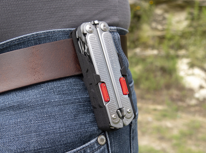 Thumb Tabs for Leatherman FREE P4 3d printed Holster sold separately