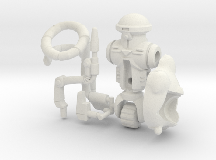 Roadkill Rodney Figure Kit (multisize) 3d printed