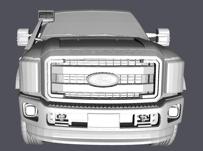 1/10 Snorkel Ford Excursion 3d printed