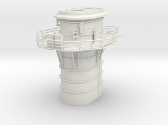 1/100 DKM Graf Spee Funnel 3d printed