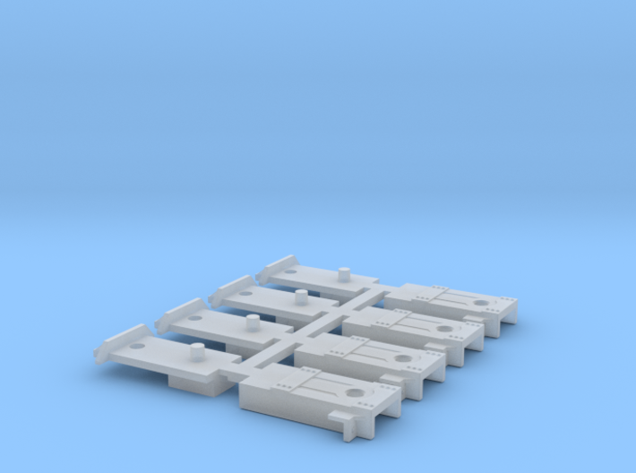 4 coupler boxes for Sergent couplers 3d printed