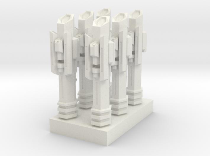 atlantis 16 - spare parts tower 3d printed