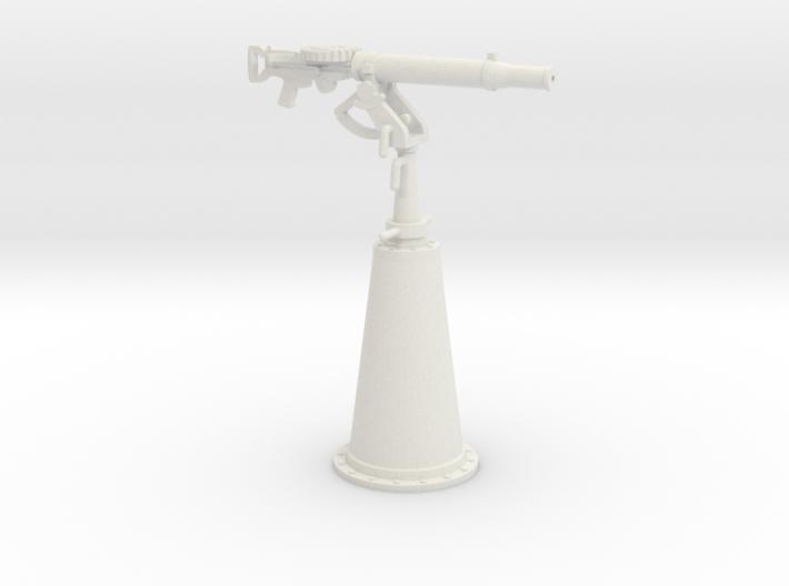 1/30 IJN Type 92 7.7mm Single Mount AA 3d printed