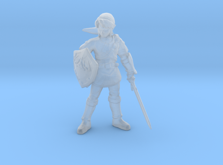 Link Hero 1/60 miniature for games and rpg 3d printed