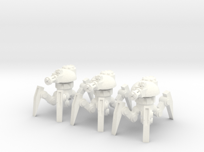 6mm - Anti Infantry Spider Bot 3d printed