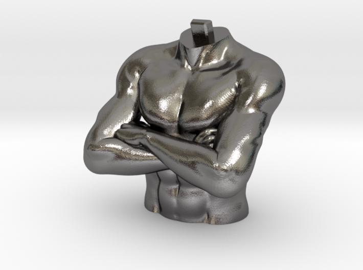 Daniel 2 Statue - Medo-Persian Chest 3d printed
