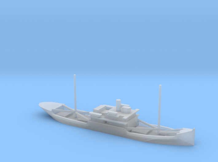 1/1800 Scale 3588 ton cargo steamer Quinault 3d printed