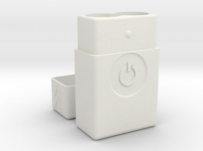 Power Battery Vape Flask V3 18650-21700  3d printed